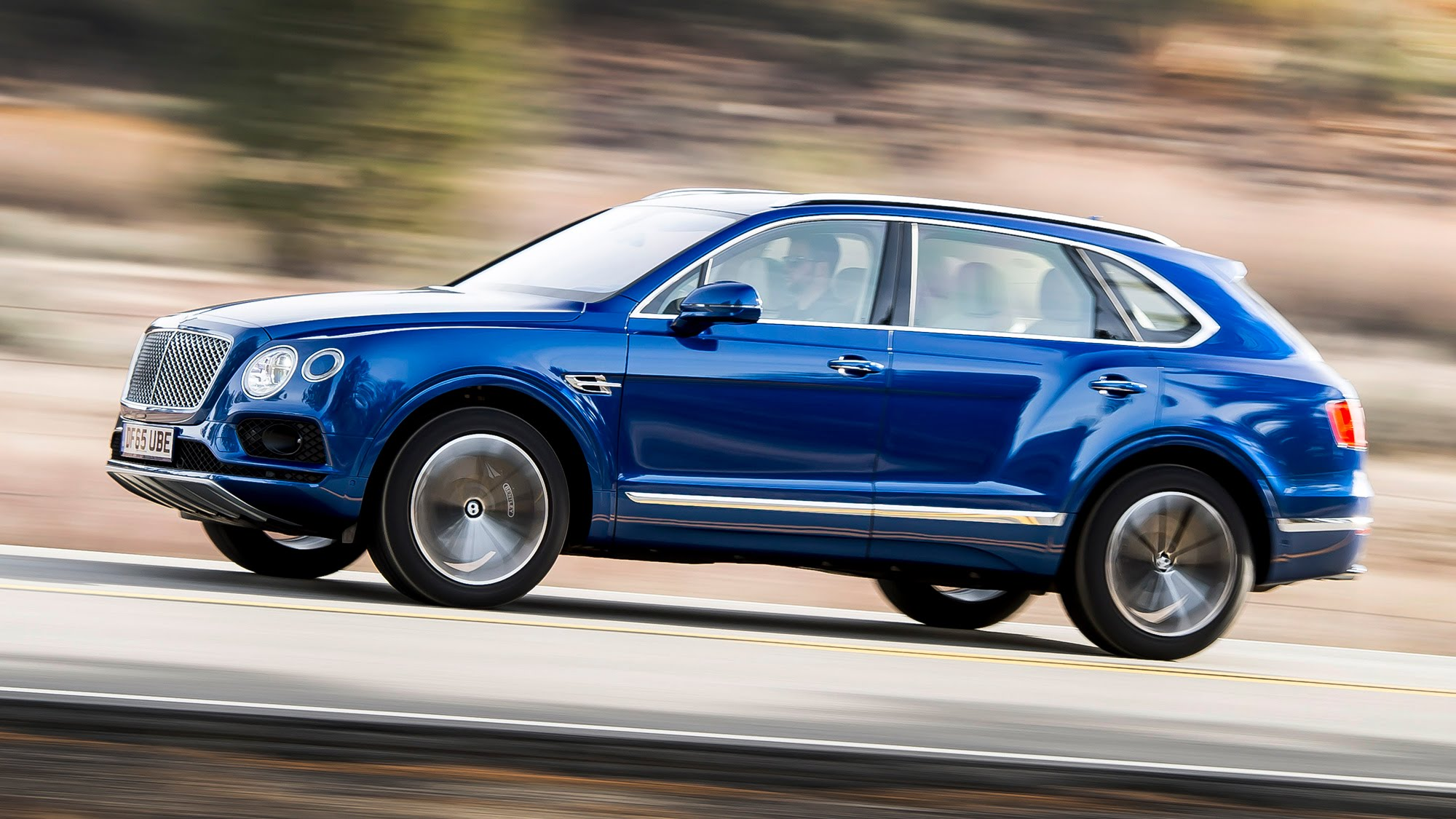 Bentley Bentayga тест драйв